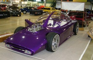 This year's Darryl Starbird National Rod & Custom Car show features the largest display of bubble top cars. Photo courtesy Darryl Starbird National Rod & Custom Car Hall of Fame Museum