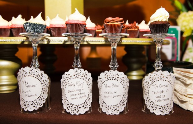 Cupcakes from Cuppies & Joe at last year's Chefs' Feast. Photo by Trawick Images, courtesy of Regional Food Bank of Oklahoma