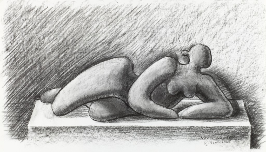 Houser-Study_Reclining_Figure