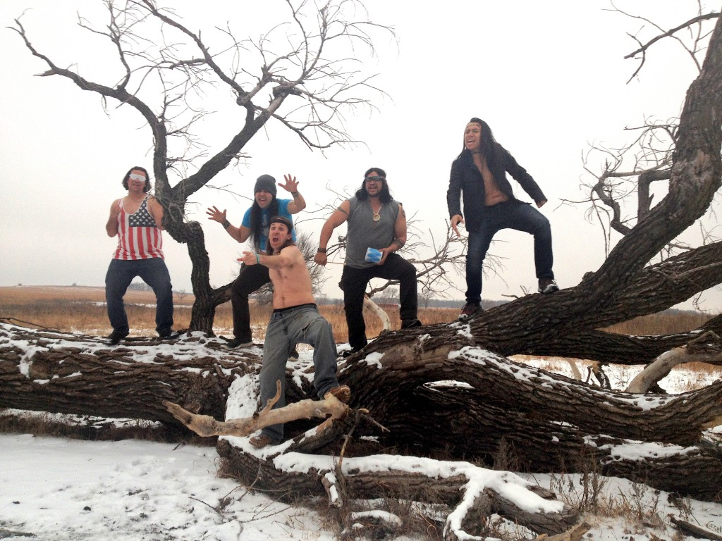 The only thing savage about the 1491s American Indian sketch comedy group is its satire. Photo courtesy the 1491s.