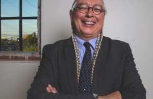 Walter Echo-Hawk, Pawnee, is an attorney and scholar on federal Indian law and indigenous rights. Photo by Brandon Scott.