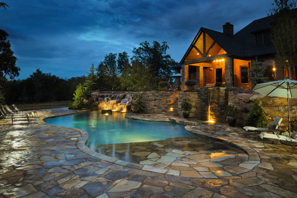 Caviness Landscape, Best Pool Designer. Photo courtesy Caviness Landscape.