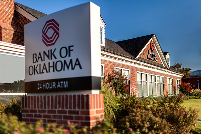 Bank of Oklahoma, Best Bank. Photo courtesy Bank of Oklahoma.