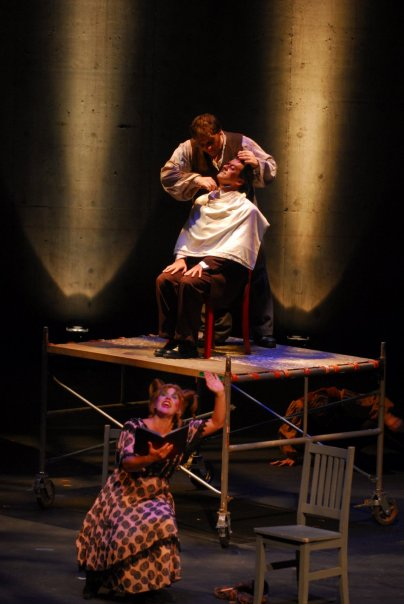 LOOK Musical Theatre brings back its production of Sweeney Todd. The company produced the musical (above) in 2007. Ron Lloyd reprises the main. Courtesy LOOK Musical Theatre.