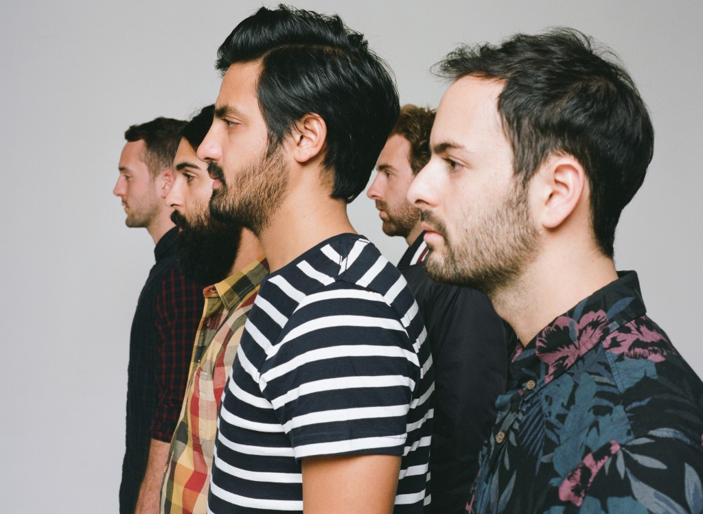 Young the Giant. Photo courtesy Roadrunner Records.