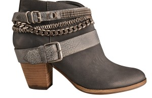 Dolce Vita black leather booties, $259, J.Cole Shoes.
