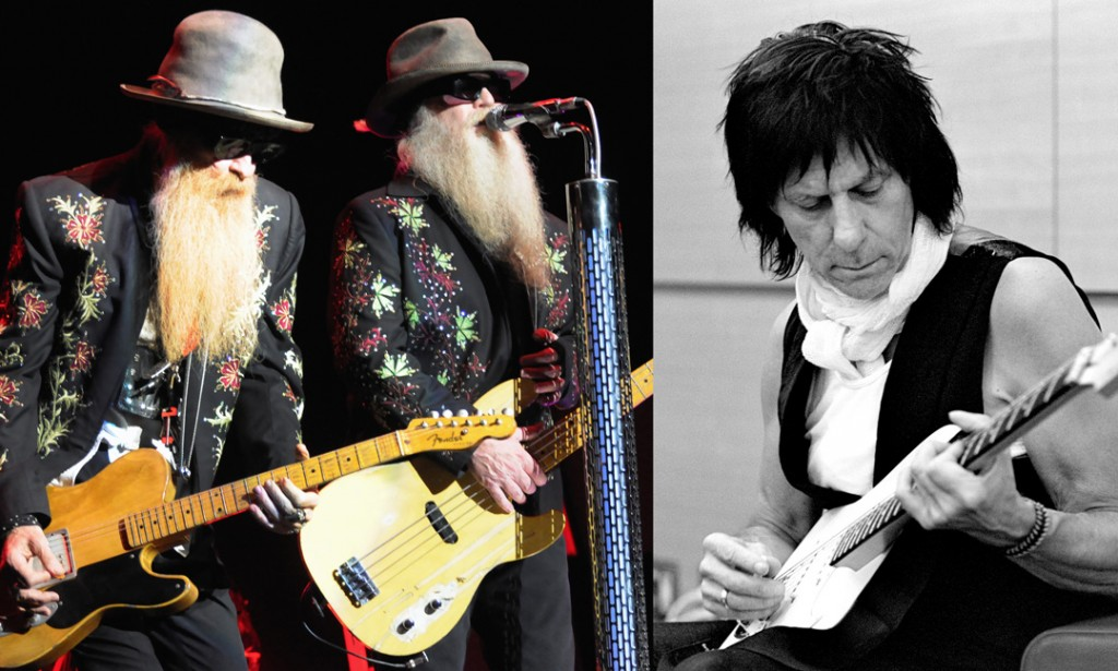 ZZ Top photo by TDC Photography/shutterstock.comj. Jeff Beck photo by Ross Halfin.