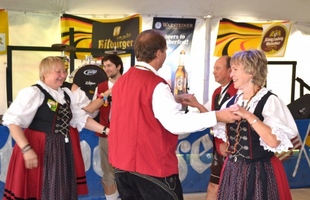 get ready for more german dance and music that's wunderbar at linde oktoberfest. Photo courtesy River Parks Authority.