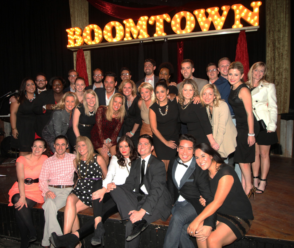 Members of TYpros recently took part in the organization's annual Boomtown Awards. Photo courtesy Tulsa's Young Professionals.