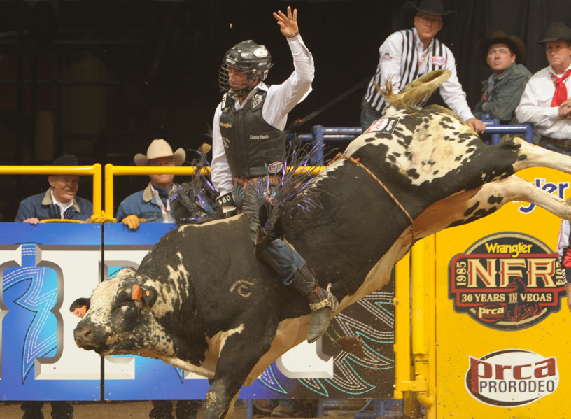 Photo courtesy Professional Cowboys Rodeo Association.