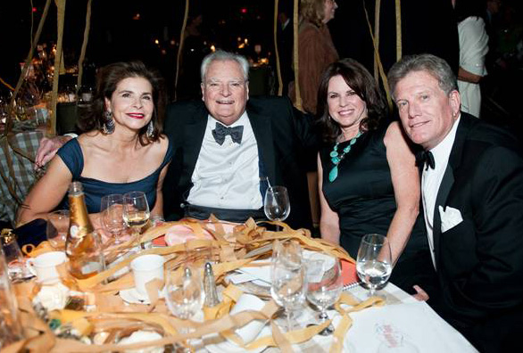 Suzanne and Bill Warren, Becky Dixon and Patrick Keegan, Painted Pony Ball 2014.