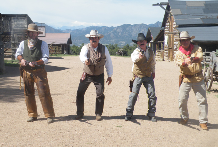 A still from the movie cactus creek, starring the simpson brothers and tom ward.
