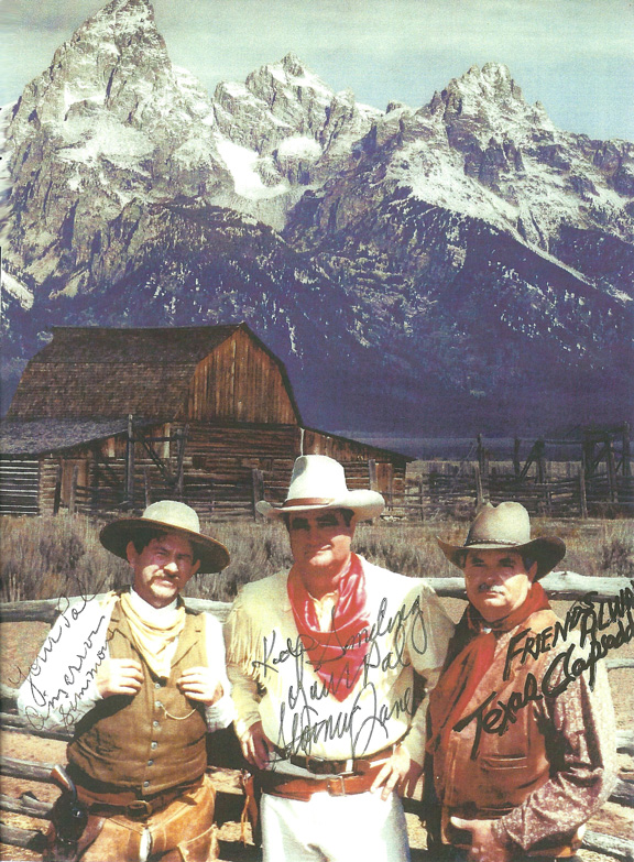 Ward and Rick and Larry Simpson have sent out thousands of promotional pictures for their five western films.