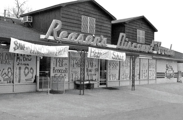 One of the earliest Reasor's locations in Tahlequah. Photo courtesy Reasor's Foods.