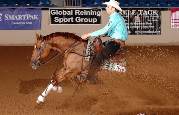 Photo courtesy Tulsa Reining Classic.