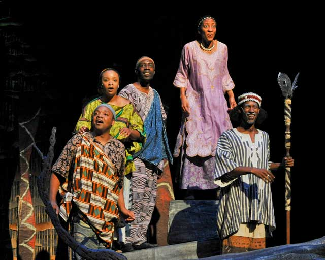 Mufaro's Beautiful Daughters. Photo courtesy Tulsa Performing Arts Center.