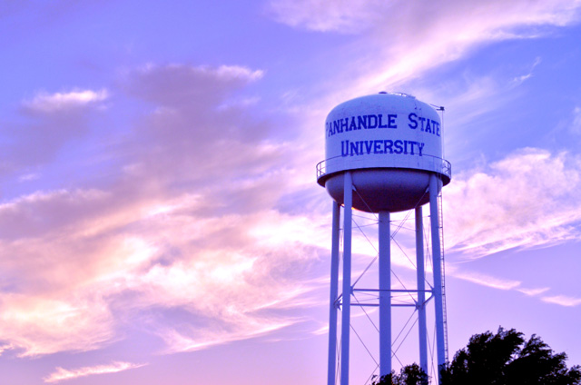 Oklahoma Panhandle State University attracts many students from other states and is known for a top-notch nursing program. Photo courtesy Oklahoma Panhandle State University.