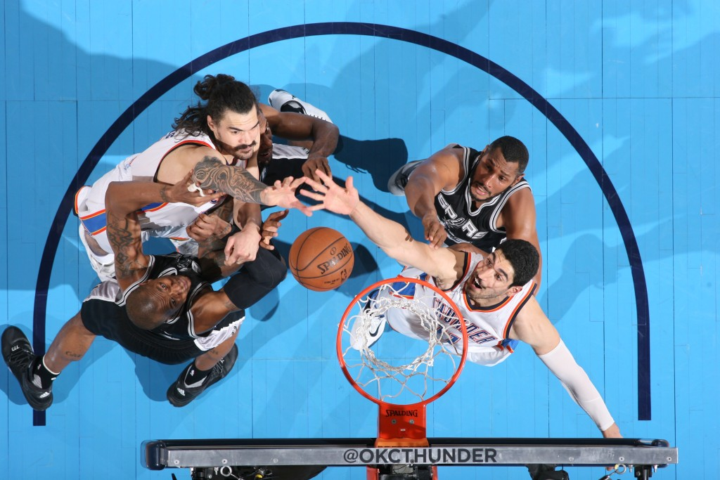 Photo by Layne Murdoch Jr., NBAE/Getty Images, courtesy Oklahoma City Thunder.
