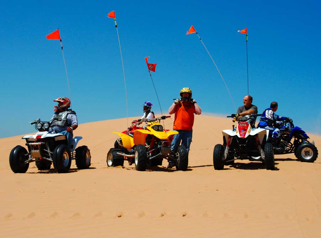 Little Sahara State Park offers 1,650 acres of sand dunes. Photo courtesy Oklahoma Tourism and Recreation Department