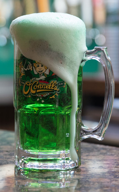St. Paddy's Day at O'Connell's is a norman tradition. Photo by Brent Fuchs.