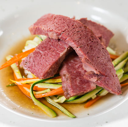 Corned Beef is one of many irish favorites at Paddy's. Photo by Chris Humphrey Photographer.